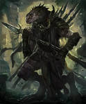 Sliith Spearman-Arcane Gladiator TCG