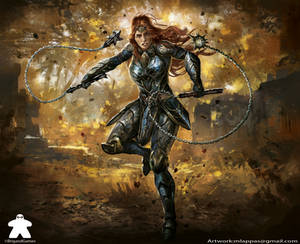 Boudica-Card-Erudia: Battle of Birthrights