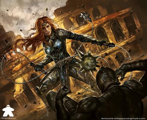 Arena-Card-Erudia: Battle of Birthright