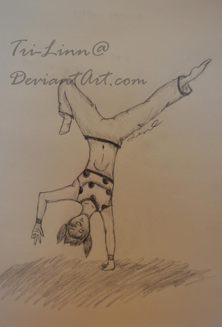Break Dance Sketch (Miraculous Ladybug) By Tri Linn ...