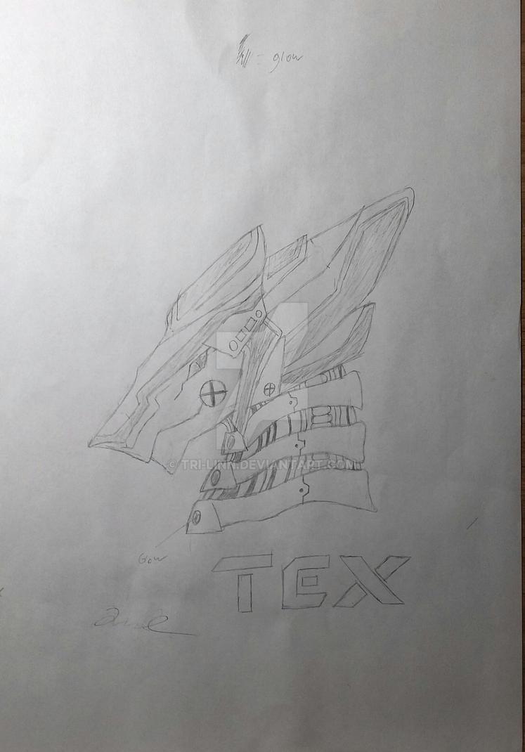 Tex (robot sergal concept) repost by Tri-Linn