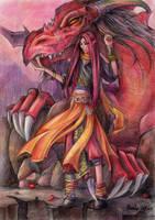 Dragon by Shnekokot