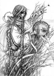 shaman_1 by Shnekokot