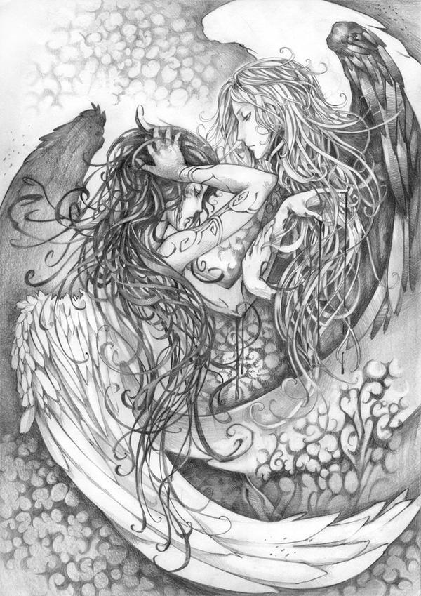 Angels by Haalu