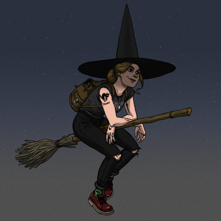 A Witch by JNathanIllustration