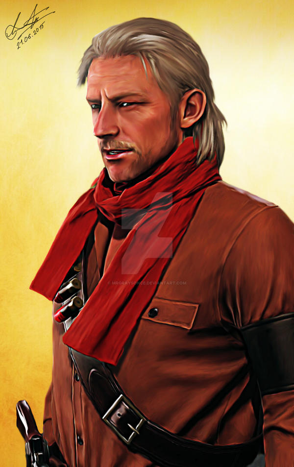 Revolver Ocelot. Metal Gear Solid 5: Phantom Pain by MrGraysonCE