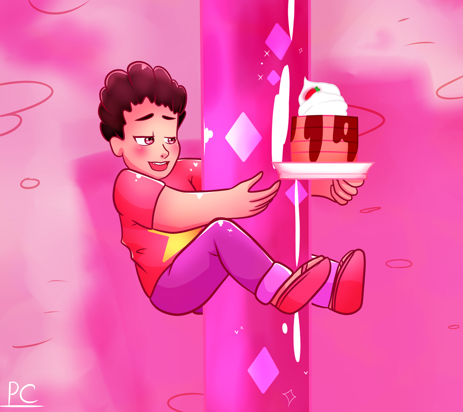 Steven Universe - Screencap re-draw by PuppetChainsaw