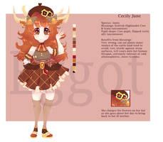 [MYO] Cecily June by b-Eggot