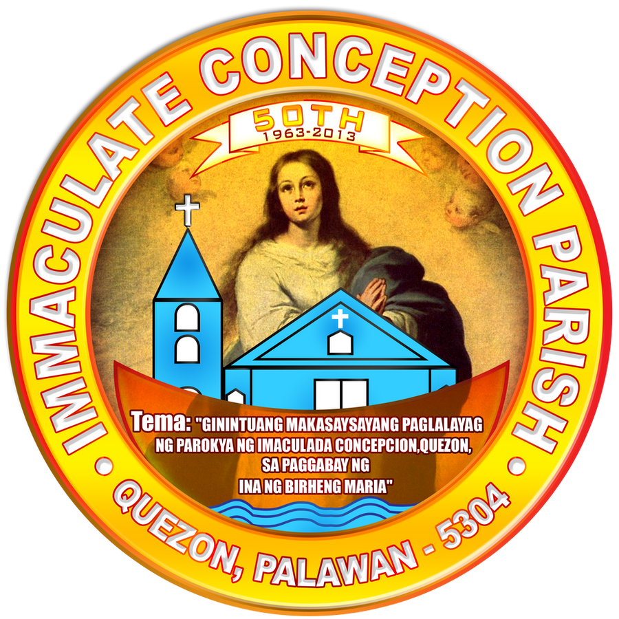 Immaculate Conception Parish Jubilee logo by michaeltuan97