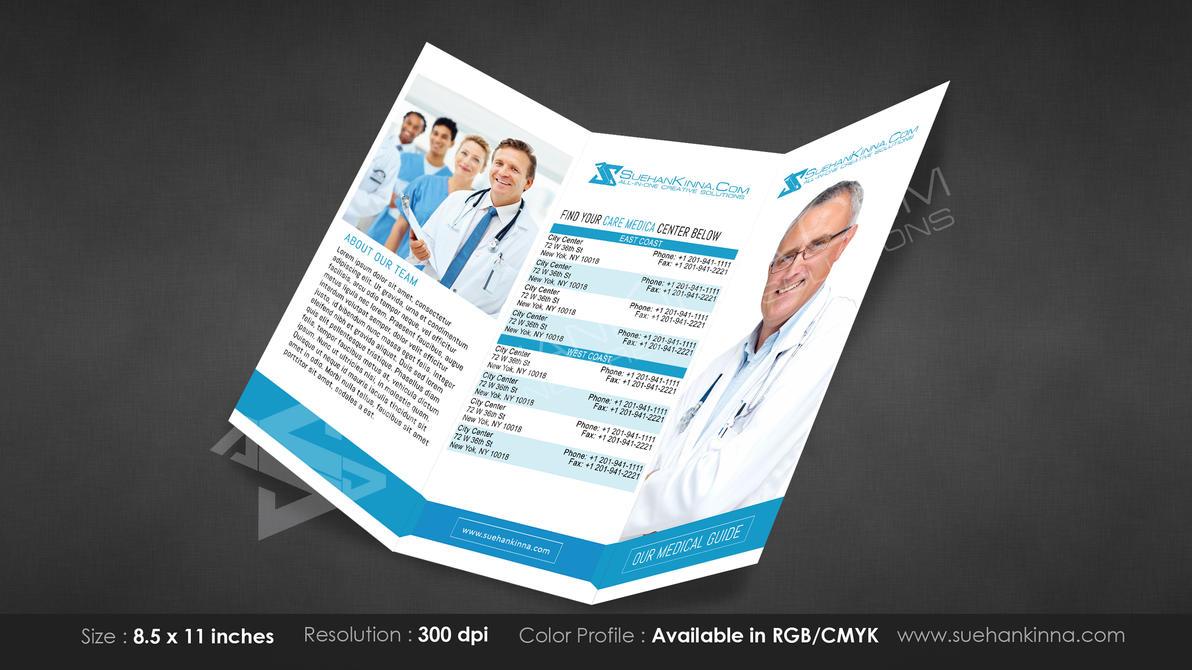 Creative Tri Fold Brochure Template 5 By Michaeltuan97 On Deviantart