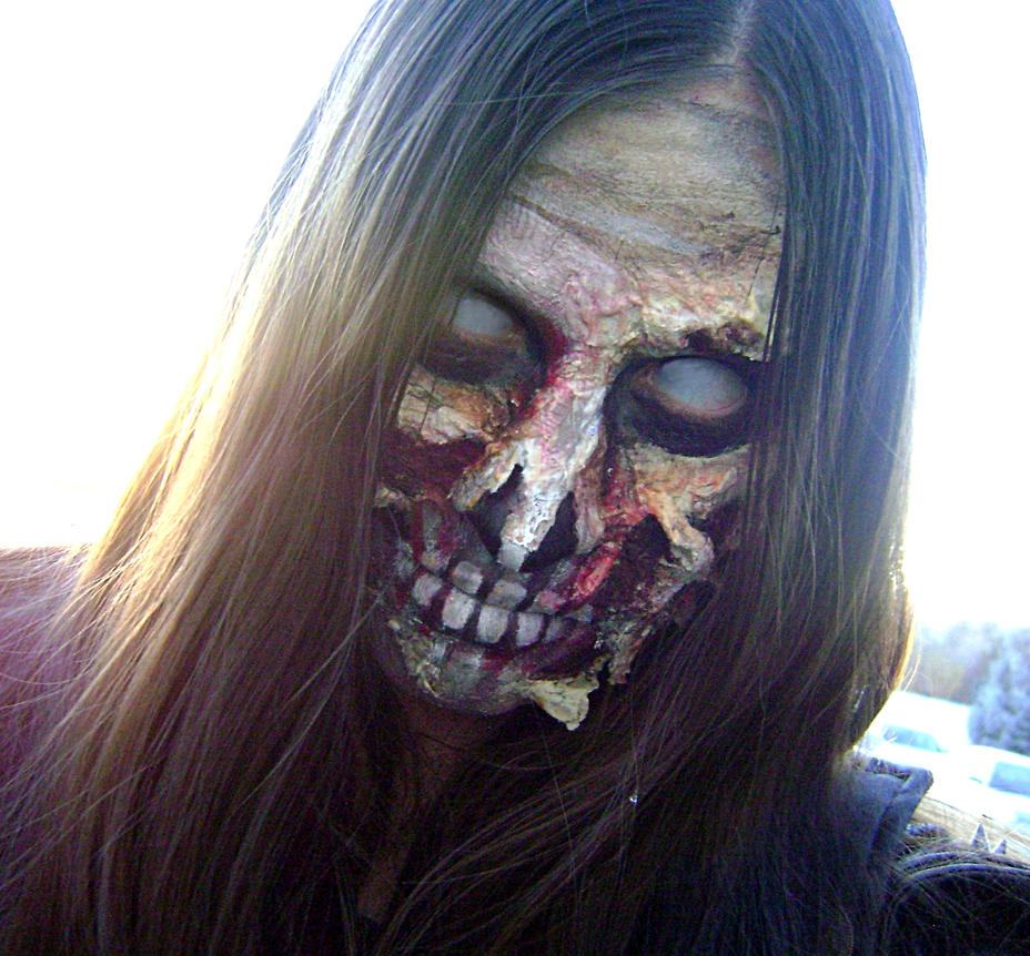 Classic Zombie Makeup by InstilledPhear