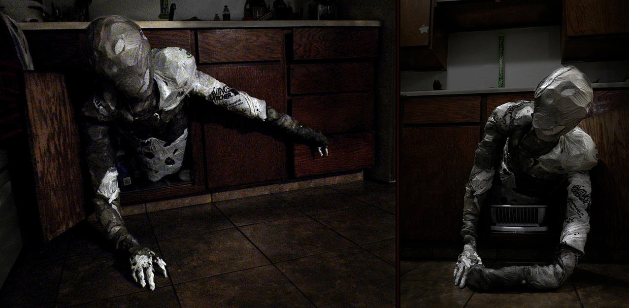 'The Garbageman' Torso Prop by ChaoticInsanity13