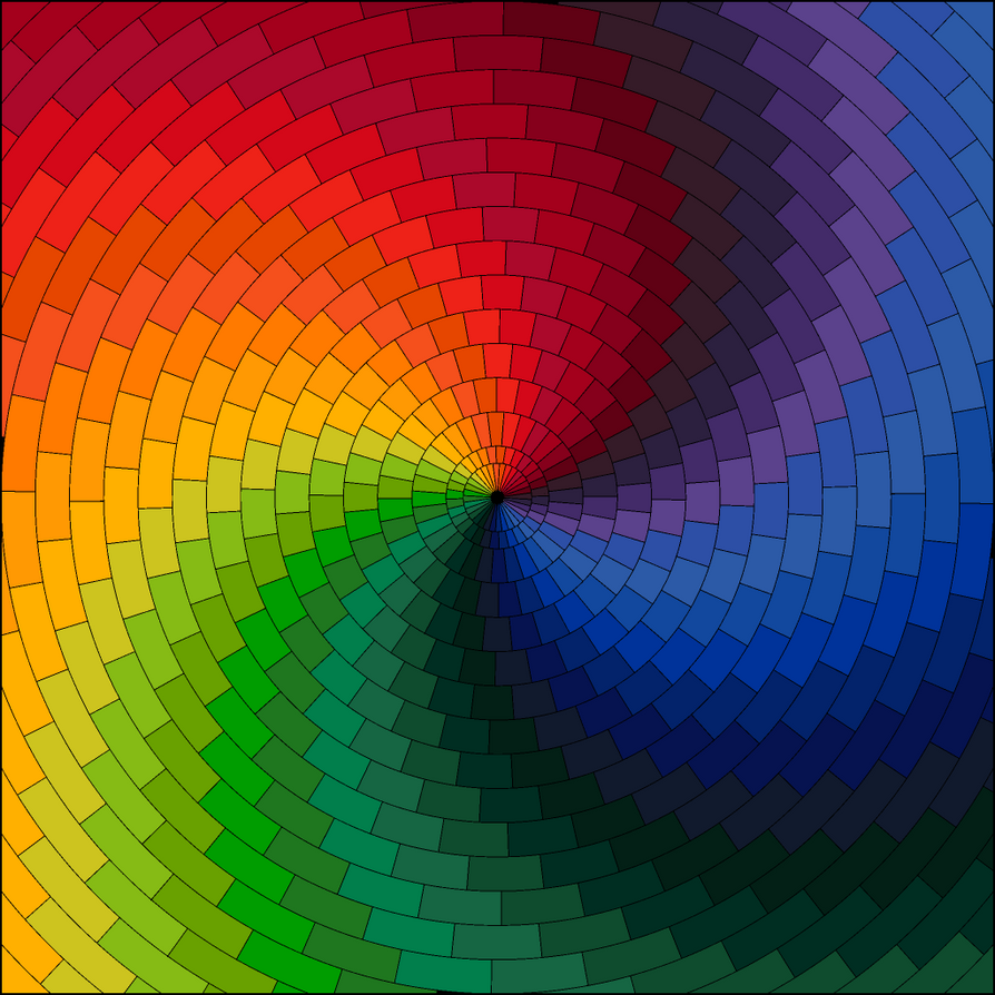 rainbow art by foxylady6