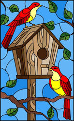 bird house by foxylady6