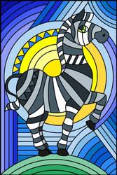 zebra  by foxylady6