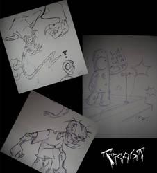 Sketchbomb SF by JoshawaFrost