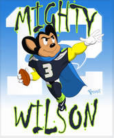 Mighty Wilson by JoshawaFrost