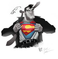 Man of Steel! by JoshawaFrost