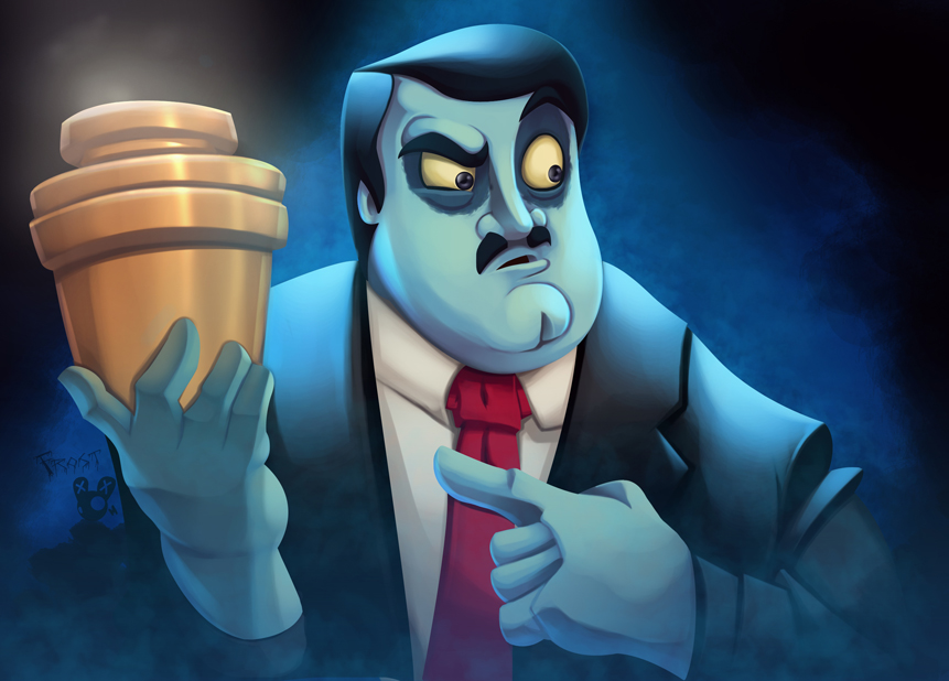 Paul Bearer Tribute by JoshawaFrost