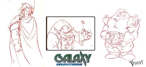 Galaxy Hunters Designs by JoshawaFrost