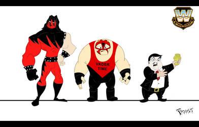 Wrestling Line Up by JoshawaFrost