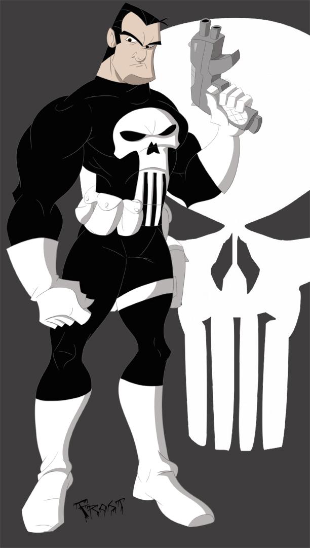 Punisher by JoshawaFrost