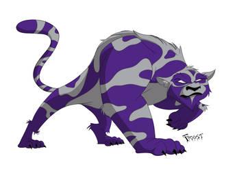 K State Wildcat by JoshawaFrost