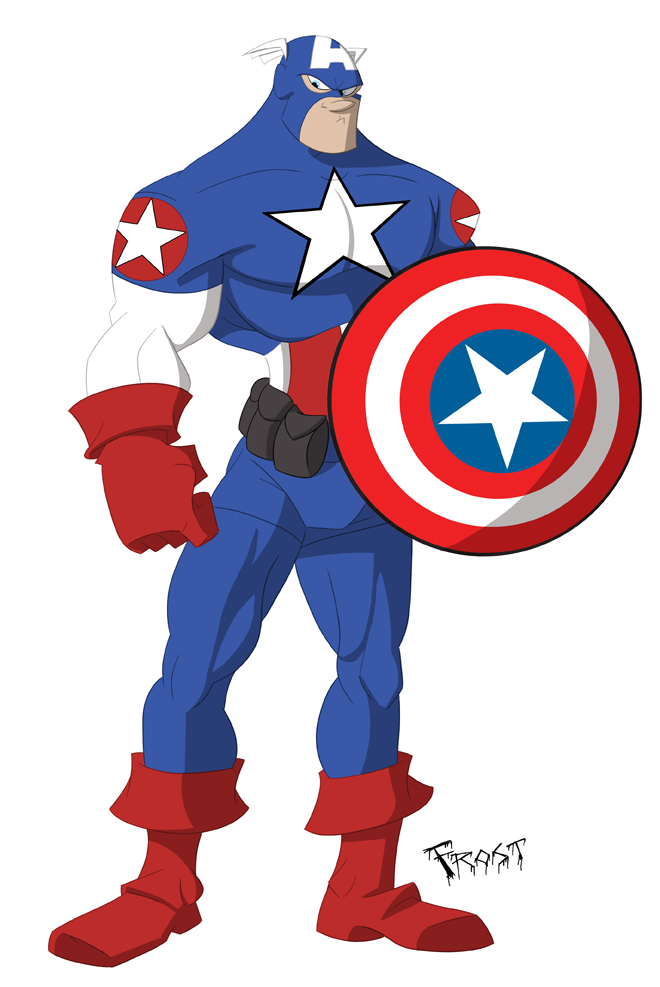 Captain America by JoshawaFrost