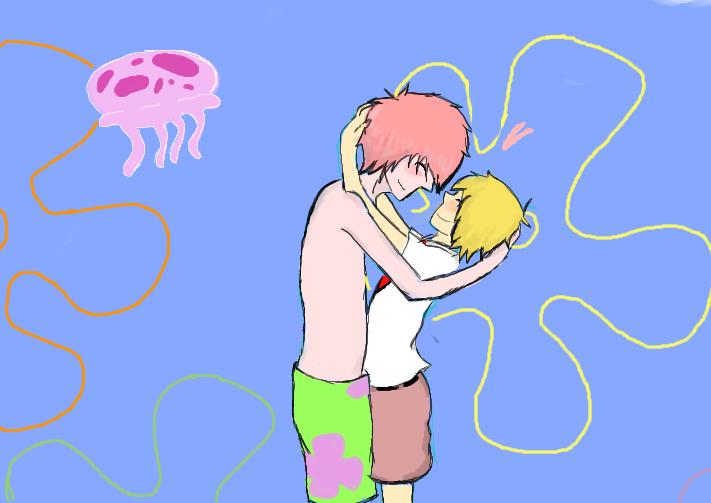 spongebob and patrick by neonravewolf on DeviantArt
