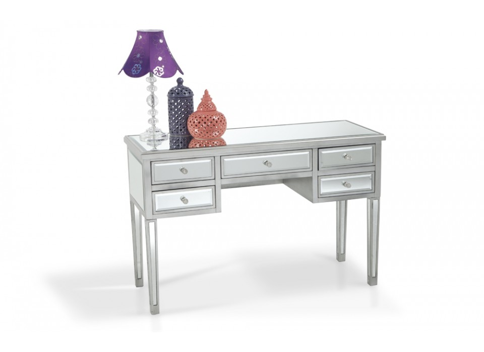 Bobs Discount Furniture   5 Drawer Mirrored Desk By Bobsfurniture ...