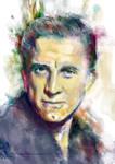 Kirk Douglas Portrait