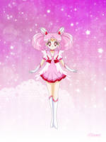 Celestial Sailor ChibiMoon by Bloom2