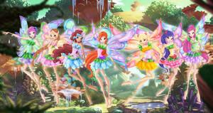 Winx Livix Fairies by Bloom2