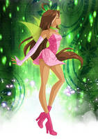 Flora Charmix fairy by Bloom2