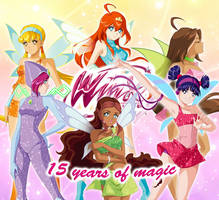 Winx Club - 15 YEARS OF MAGIC by Bloom2