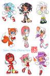 Sonic chibi human characters