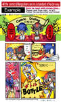 Sonic fan comic-example page