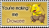 You're making me Drowzee by GhettoSketchah