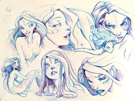 Patayin - sketches by kappou-caroline