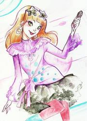 Rhapsody character : Cassandra by kappou-caroline