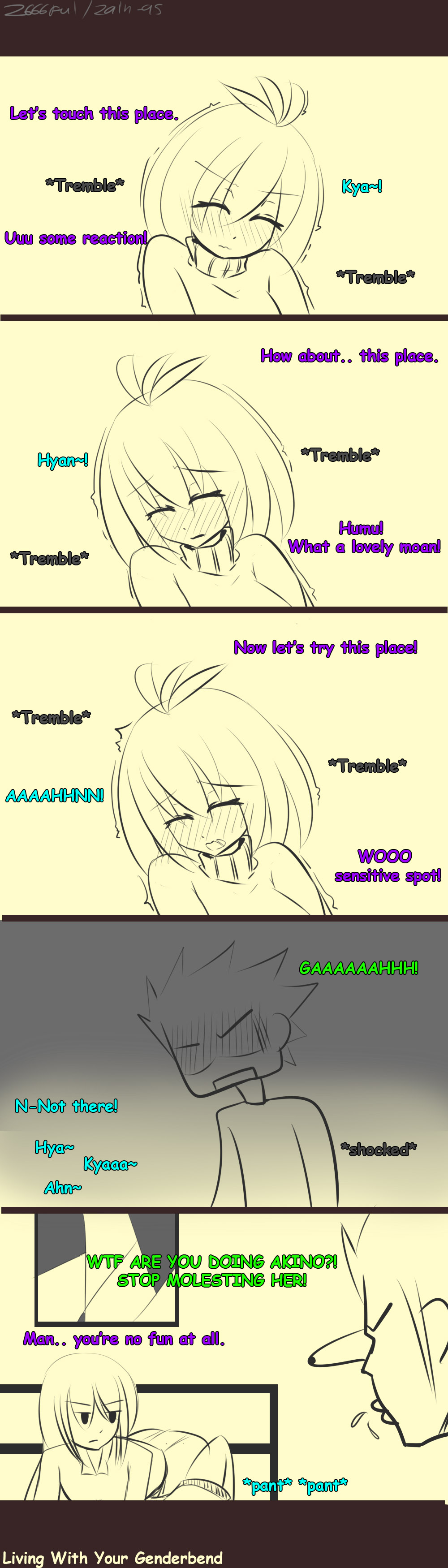 Living With Your Genderbend. - Y U NO JOIN?! - by Zain-95