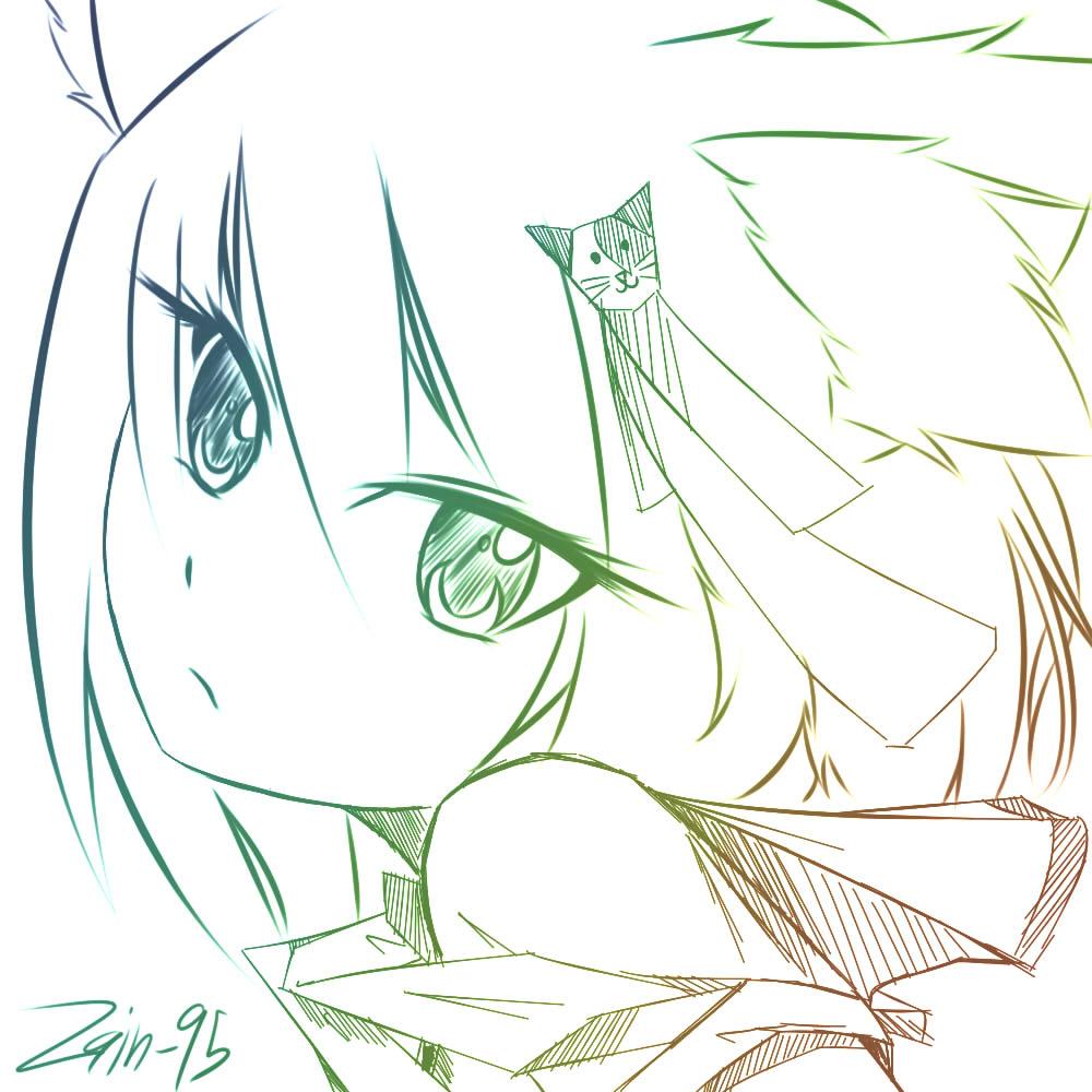 Neko Girl by Zain-95