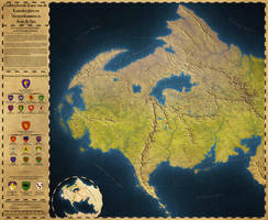 Map of Aran and Ilan by Caenwyr