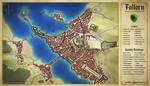 Faltorn, capital of the Dragon's Tail