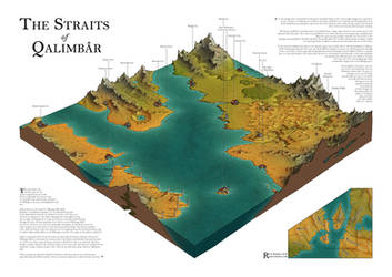 The Straits of Qalimbar by Caenwyr