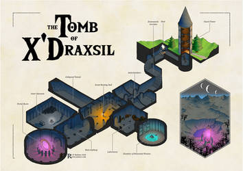 Spectres and Shadows - the Tomb of XDraxsil by Caenwyr