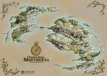 The Sacred Isles of Mostrvaeya by Caenwyr