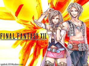 Ashe and Vaan from FFXII