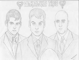 Alkaline Trio by vampireFreak1015