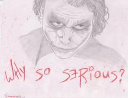 Why So Serious? by vampireFreak1015